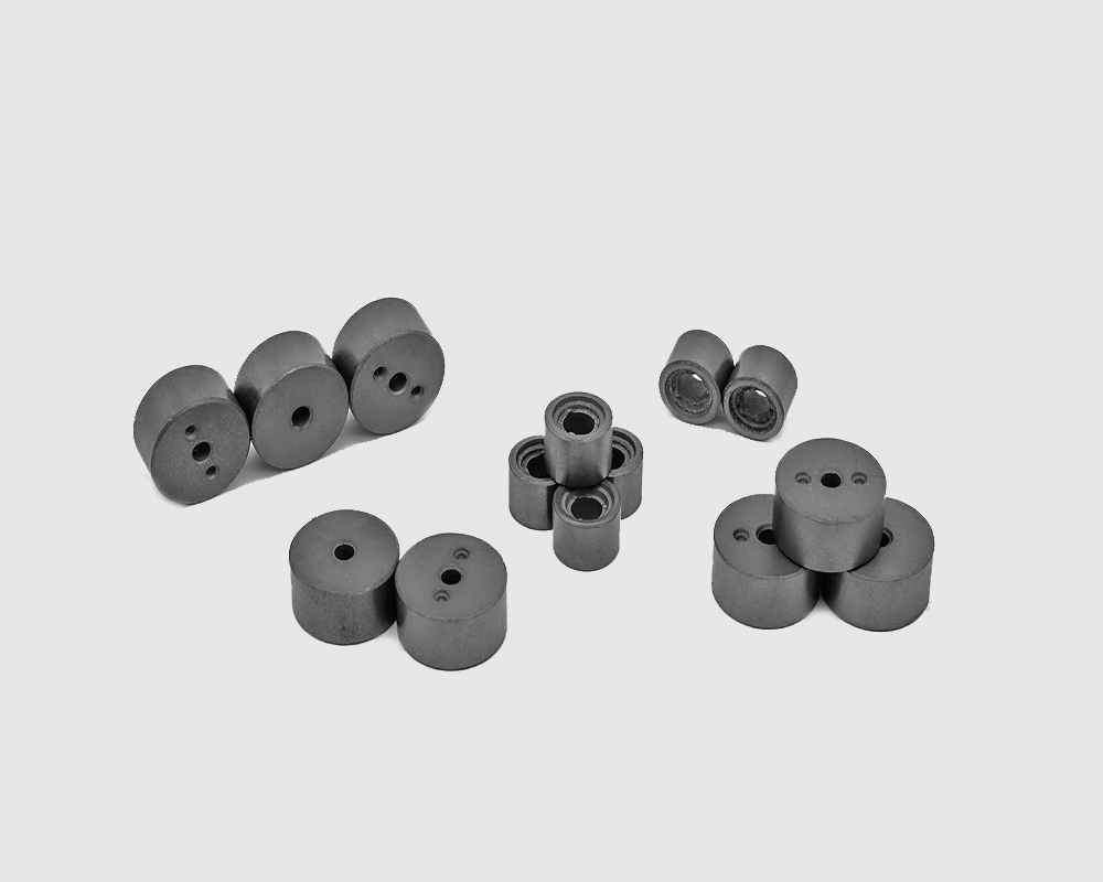 hard ferrite magnet multipole ring for motors