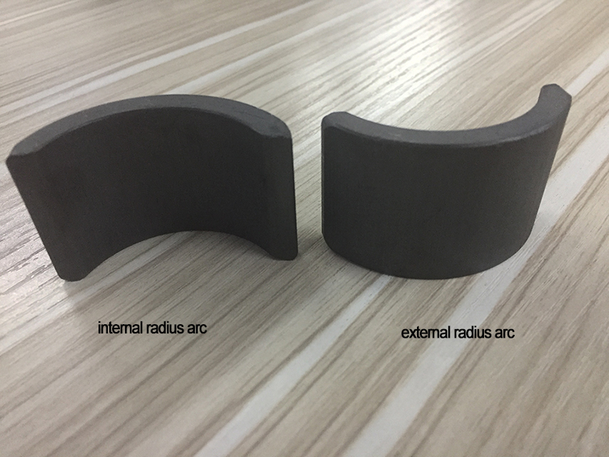 What difference of stator magnet and rotor magnet for ferrite magnet?